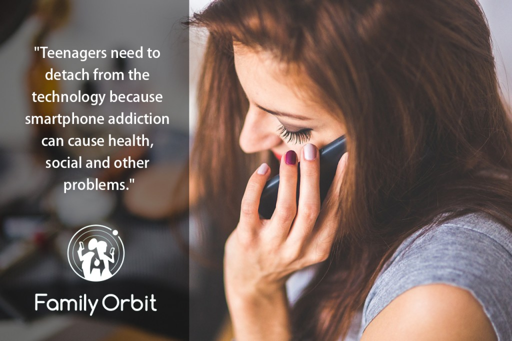 smartphone addiction in teens