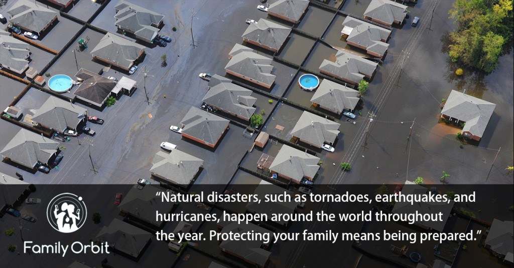 prepare your family for natural disaster