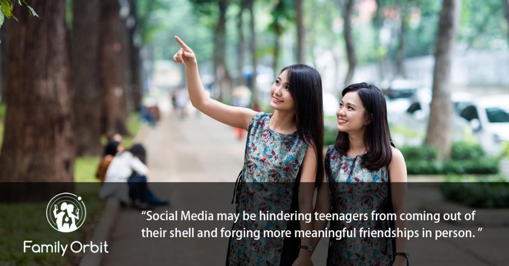 social media teen's skills